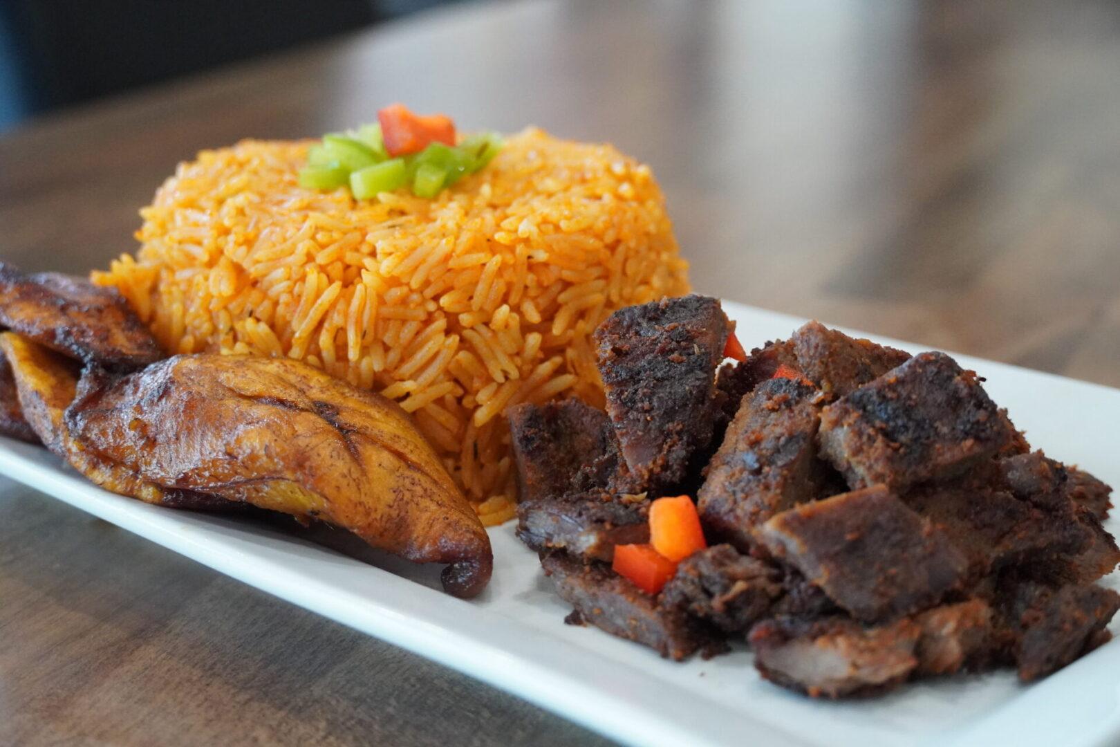 suya + rice 2