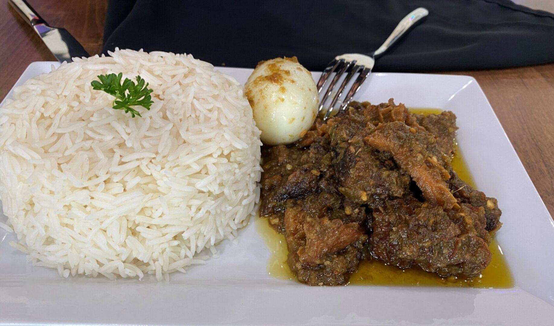 Designer Stew + Rice
