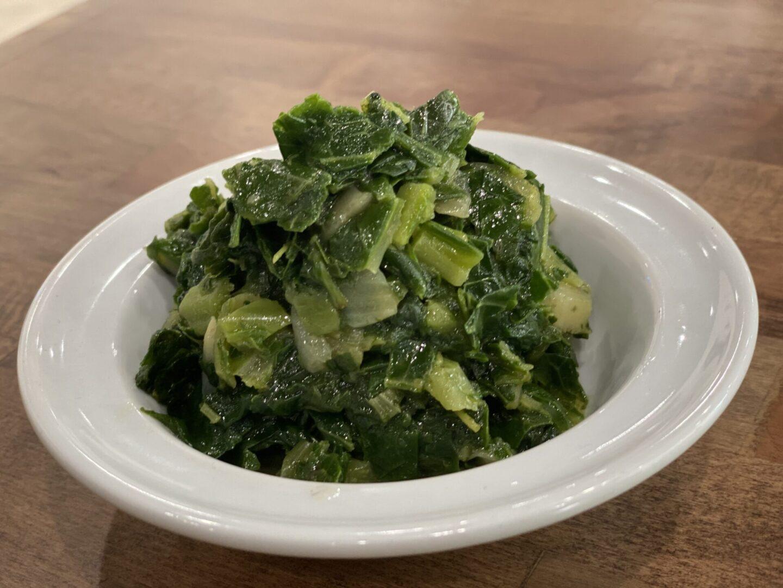 Spinach-Collard Green
